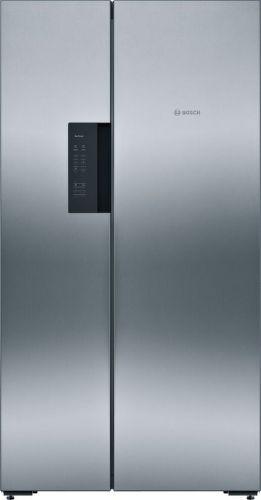 BOSCH KAN92VI35, nerezová americká chladnička