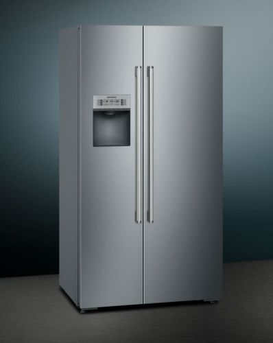 SIEMENS KA92DHI31, nerezova americká chladnička