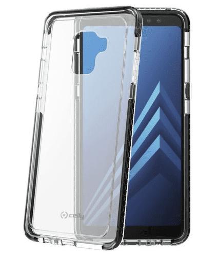 Celly Hexacon pouzdro pro Galaxy A8, černé