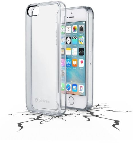 Cellular Line Clear Duo pouzdro pro iPhone 5S/SE