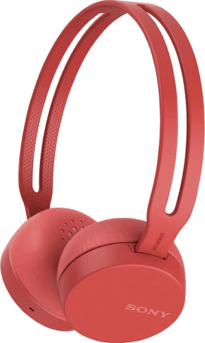 SONY WH-CH400 RED