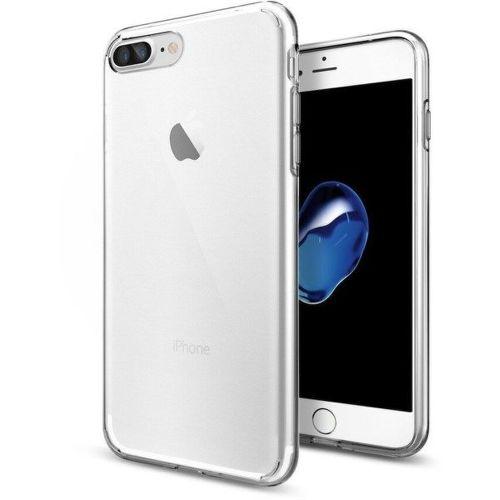 Spigen Liquid Crystal pouzdro pro iPhone 7 Plus a 8 Plus, transparentní