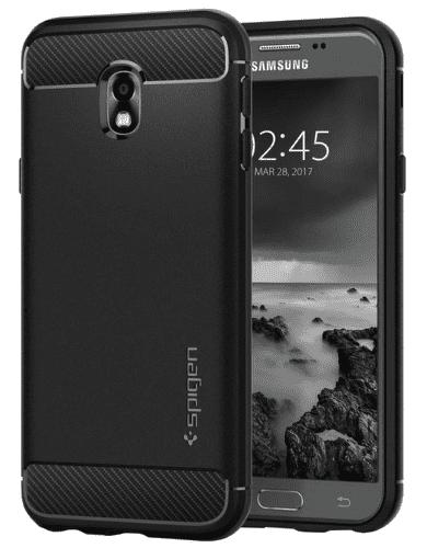 Spigen Rugged Armor pouzdro pro Samsung Galaxy J3 2017, černé