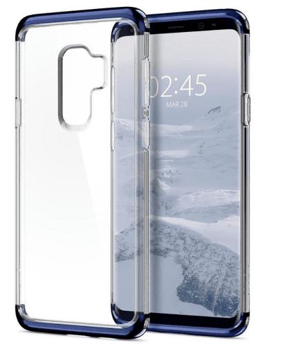 Spigen Neo Hybrid Crystal pouzdro pro Galaxy S9+, modré