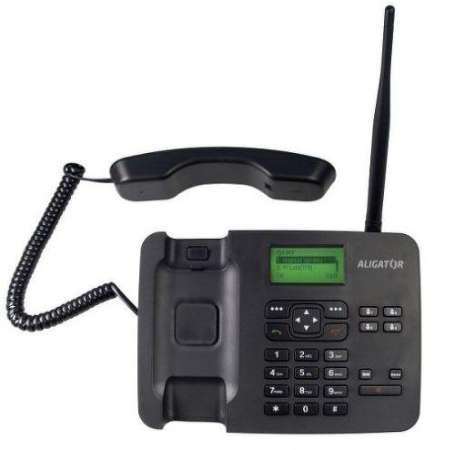 ALIGATOR AT100B BLK, Stolní telefon