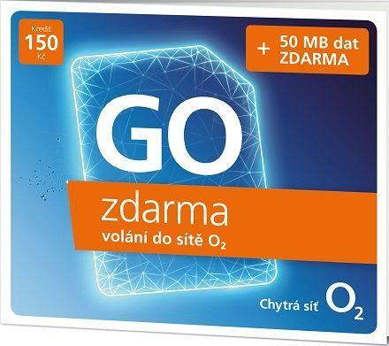 O2 GO zdarma, SIM karta