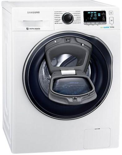 Samsung WW80K6414QW AddWash - bílá smart pračka plněná zepředu