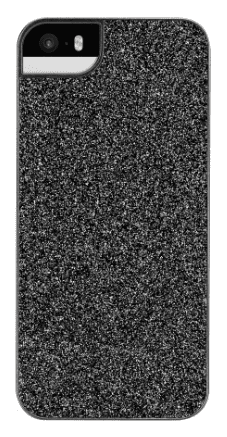 Flavr iPlate Glamour pouzdro pro iPhone SE/5S/5, černá