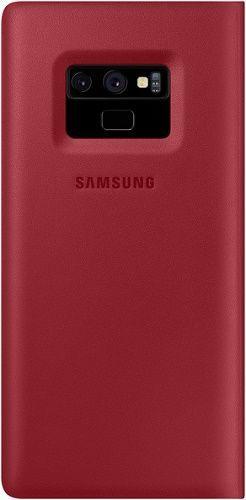 Samsung Leather pouzdro pro Samsung Galaxy Note9, červená