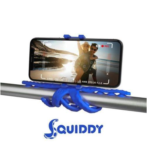Celly Squiddy modrý, flexibilní držák