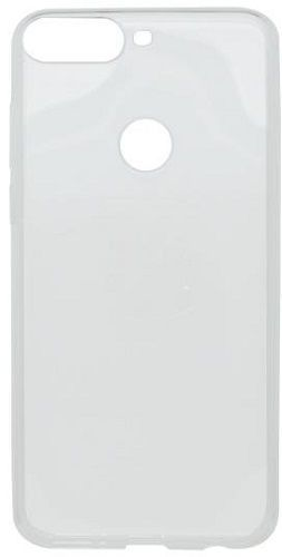 Mobilnet gumové pouzdro pro Huawei Y7 Prime 2018, transparentní
