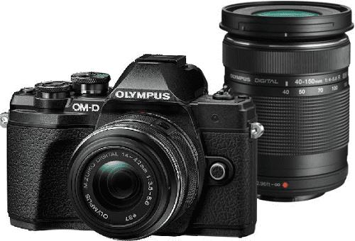 OLYMPUS E-M10III DZ BLK/BL, bezzrcadlovk