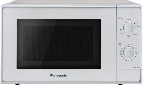 PANASONIC NN-K12JMMEPG, stříbrná mikrovlnná trouba