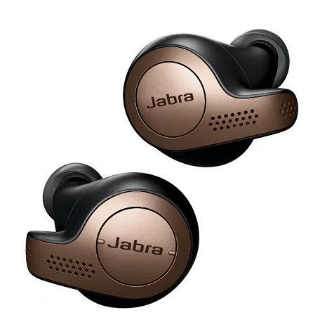 Jabra Elite 65t hnědo černá