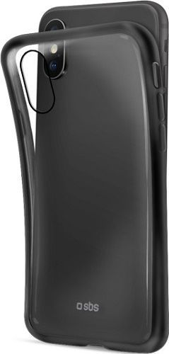SBS silikonové pouzdro pro Apple iPhone Xs Max, černé