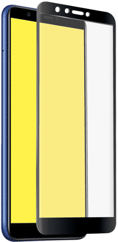 SBS Full Cover tvrzené sklo pro Huawei Y7 Prime 2018, černá