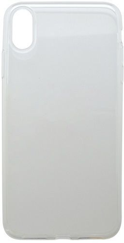 Mobilnet gumové pouzdro pro Apple iPhone Xs Max, transparentní