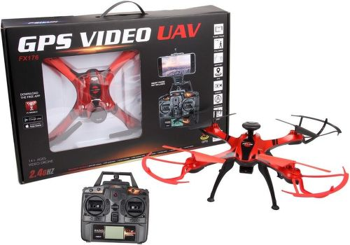 Quad RFD250637, RC dron s GPS, Wifi kamerou