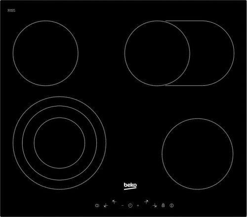 Beko HIC 64404 T - černá sklokeramická varná deska