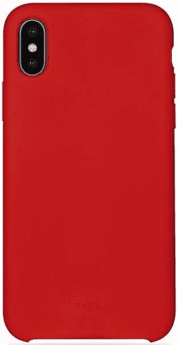 Puro Icon Cover pouzdro pro Apple iPhone Xr, červená