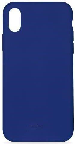 Puro Icon Cover pouzdro pro Apple iPhone Xs Max, tmavá modrá