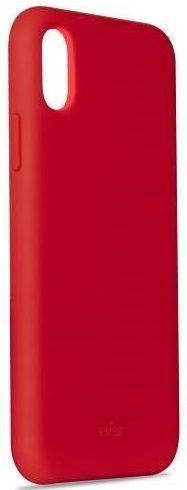 Puro Icon Cover pouzdro pro Apple iPhone Xs Max, červená