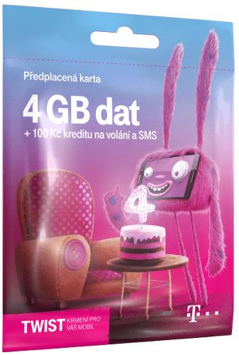 T-MOBILE Twist s Námi 4GB, SIM karta