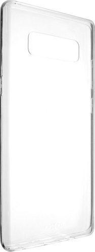 Fixed TPU gelové pouzdro pro Samsung Galaxy J4+, transparentní