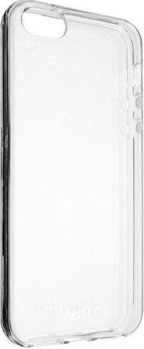 Fixed TPU gelové pouzdro pro Apple iPhone SE/5S/5, transparentní