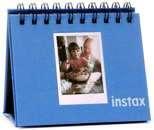 Instax Twin Mini Flip Album, kobaltově modrá