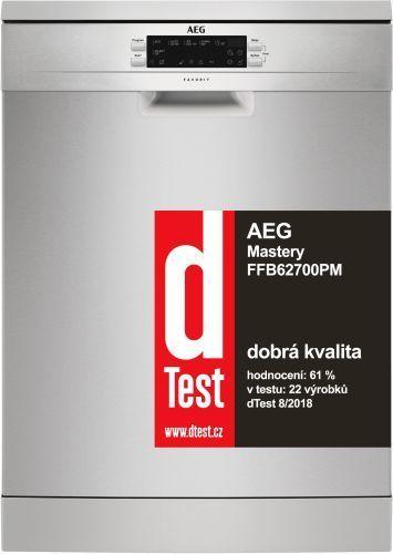 AEG FFB62700PM nerezová myčka nádobí