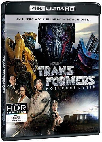 Transformers: Poslední rytíř - Blu-ray + 4K UHD film