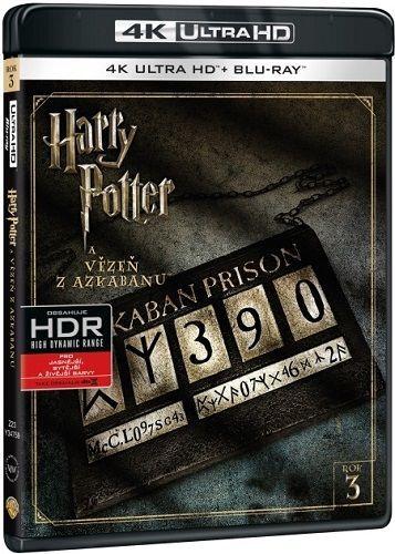 Harry Potter a Vězeň z Azkabanu - Blu-ray + 4K UHD film