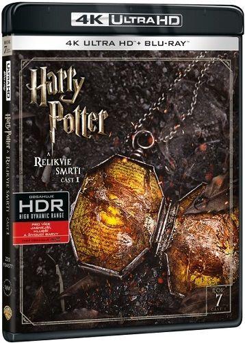 Harry Potter a Relikvie smrti 1 - Blu-ray + 4K UHD film