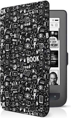 Connect IT Doodle pouzdro pro čtečku e-kníh PocketBook 624/626 černé