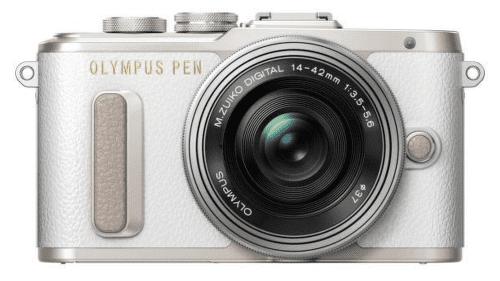 Olympus PEN E-PL8 bílo-stříbrný + 14-42 EZ