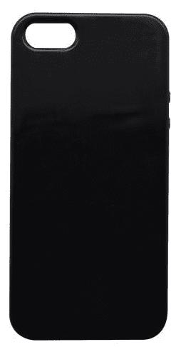 Mobilnet gumové pouzdro pro Apple iPhone 6 a 6s, leskle černá