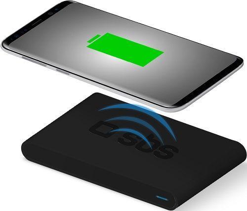 SBS Qi Fast Charge bezdrátová nabíjecí podložka, černá