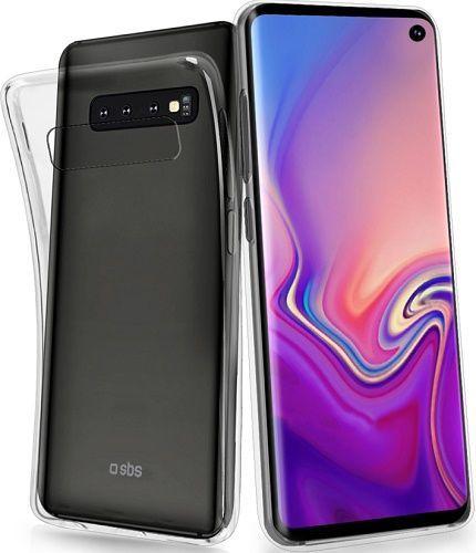 SBS Skinny silikonové pouzdro pro Samsung Galaxy S10, transparentní