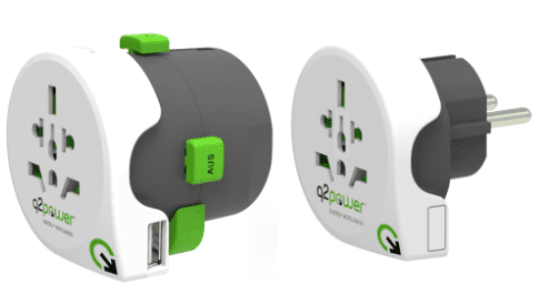 Q2 Power Qdapter 360 USB