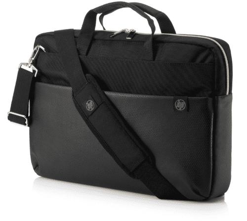 HP Pavilion Accent Briefcase 15 taška na notebook, černo zlatá