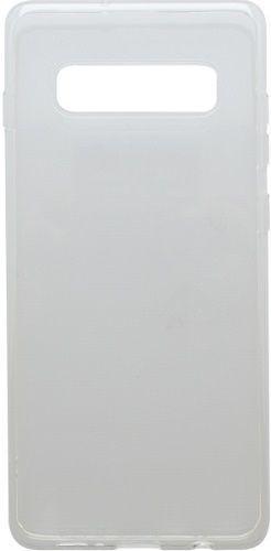 Mobilnet gumové pouzdro pro Samsung Galaxy S10, transparentní