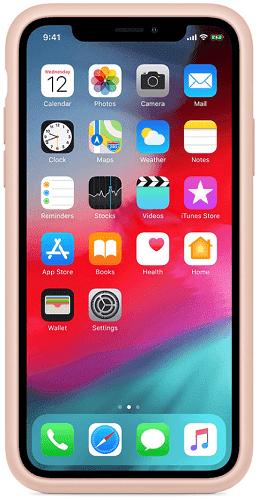 Apple Smart Battery pouzdro pro Apple iPhone Xs Max, růžová