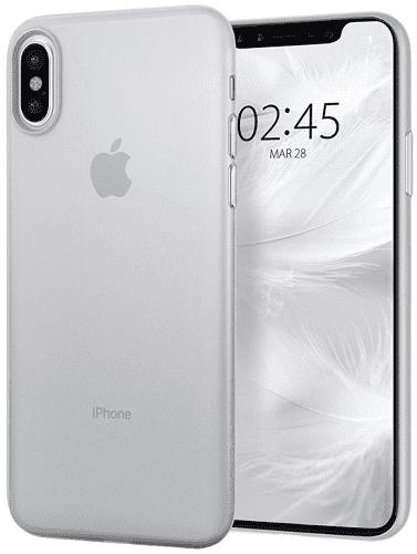 Spigen Air Skin pouzdro pro Apple iPhone X/Xs, transparentní