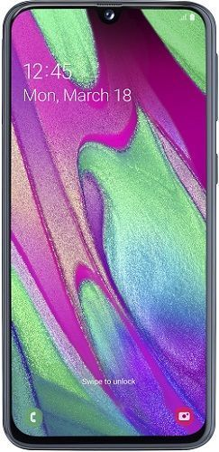 Samsung Galaxy A40 64 GB černý