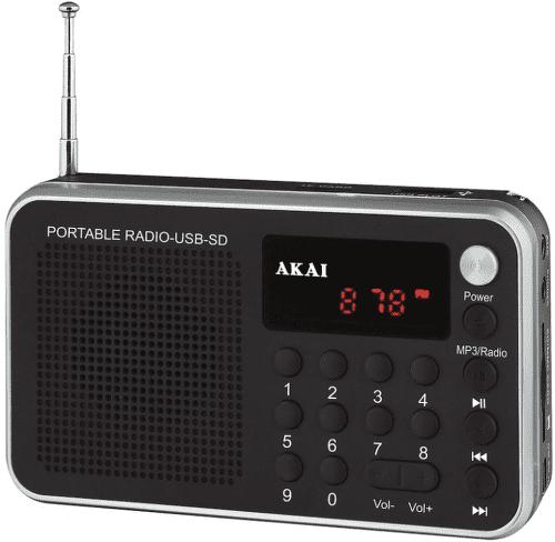 AKAI DR002A-521 BLACK