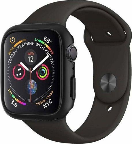 Spigen Thin Fit kryt pro Apple Watch Series 4, černá