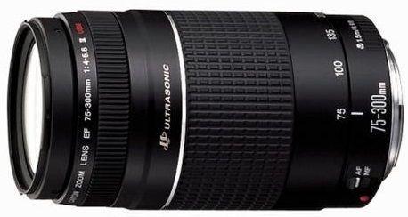 Canon EF 75-300mm f/4.0-5.6 USM III, černý
