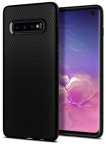 Spigen Liquid Air pouzdro pro Samsung Galaxy S10, matná černá