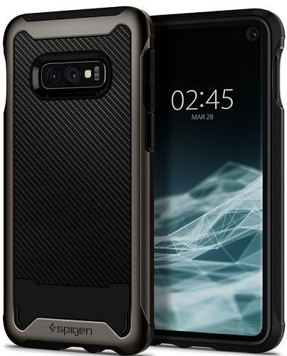 Spigen Hybrid NX pouzdro pro Samsung Galaxy S10e, metalická